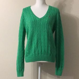Polo Ralph Lauren Cable Knit Sweater. Women's XL